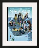 The New Yorker Cover - April 11, 2005 Framed Giclee Print by Mark Ulriksen