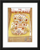 The New Yorker Cover - January 1, 1972 Framed Giclee Print by James Stevenson