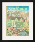 The New Yorker Cover - April 29, 1961 Framed Giclee Print by Ilonka Karasz