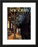 The New Yorker Cover - September 1, 1962 Framed Giclee Print by Arthur Getz