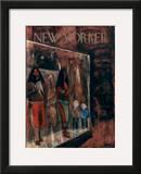 The New Yorker Cover - September 14, 1957 Framed Giclee Print by Robert Kraus