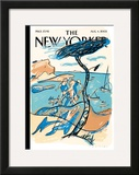 The New Yorker Cover - August 4, 2003 Framed Giclee Print by  Mariscal