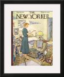 The New Yorker Cover - September 10, 1955 Framed Giclee Print by Perry Barlow