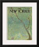 The New Yorker Cover - July 15, 1967 Framed Giclee Print by Ilonka Karasz