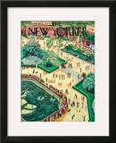 The New Yorker Cover - May 26, 1945 Framed Giclee Print by Constantin Alajalov