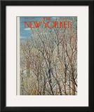 The New Yorker Cover - January 31, 1959 Framed Giclee Print by Ilonka Karasz