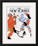 The New Yorker Cover - February 28, 1970 Framed Giclee Print by James Stevenson