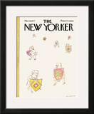 The New Yorker Cover - March 28, 1977 Framed Giclee Print by Douglas Florian