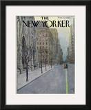 The New Yorker Cover - March 16, 1957 Framed Giclee Print by Arthur Getz