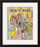 The New Yorker Cover - November 9, 1992 Framed Giclee Print by Mark Alan Stamaty