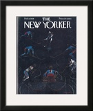 The New Yorker Cover - February 8, 1958 Framed Giclee Print by Garrett Price