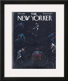 The New Yorker Cover - February 8, 1958 Framed Giclee Print by Garrett Price