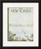 The New Yorker Cover - March 31, 1962 Framed Giclee Print by Ilonka Karasz
