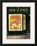 The New Yorker Cover - February 14, 1953 Framed Giclee Print by Edna Eicke
