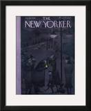 The New Yorker Cover - January 20, 1940 Framed Giclee Print by Christina Malman