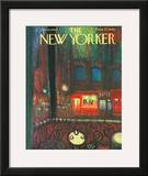 The New Yorker Cover - January 26, 1963 Framed Giclee Print by Robert Kraus