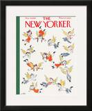 The New Yorker Cover - December 16, 1950 Framed Giclee Print by William Steig