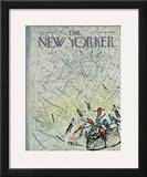 The New Yorker Cover - February 4, 1967 Framed Giclee Print by Abe Birnbaum