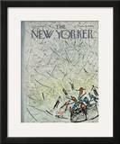 The New Yorker Cover - February 4, 1967 Framed Giclee Print by Abe Birnbaum