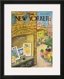 The New Yorker Cover - June 22, 1968 Framed Giclee Print by Beatrice Szanton