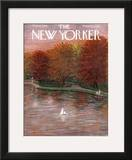 The New Yorker Cover - October 20, 1956 Framed Giclee Print by Edna Eicke