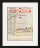 The New Yorker Cover - April 9, 1984 Framed Giclee Print by Eugène Mihaesco