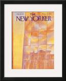 The New Yorker Cover - July 22, 1974 Framed Giclee Print by Eugène Mihaesco