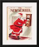 The New Yorker Cover - December 11, 1937 Framed Giclee Print by Constantin Alajalov