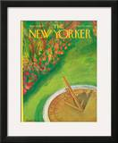 The New Yorker Cover - July 29, 1967 Framed Giclee Print by Beatrice Szanton