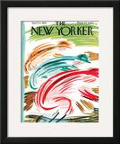 The New Yorker Cover - April 22, 1961 Framed Giclee Print by Abe Birnbaum