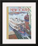 The New Yorker Cover - March 25, 1939 Framed Giclee Print by Ilonka Karasz