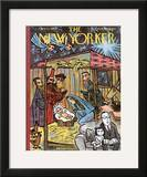 The New Yorker Cover - December 22, 1962 Framed Giclee Print by William Steig