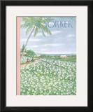 The New Yorker Cover - April 20, 1957 Framed Giclee Print by Edna Eicke
