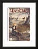 The New Yorker Cover - November 28, 1936 Framed Giclee Print by Constantin Alajalov