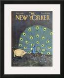 The New Yorker Cover - June 4, 1966 Framed Giclee Print by William Steig