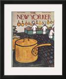 The New Yorker Cover - April 9, 1960 Framed Giclee Print by Abe Birnbaum
