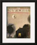 The New Yorker Cover - September 23, 1967 Framed Giclee Print by Andre Francois