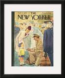 The New Yorker Cover - September 29, 1945 Framed Giclee Print by Perry Barlow