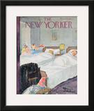 The New Yorker Cover - December 29, 1956 Framed Giclee Print by Perry Barlow