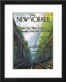 The New Yorker Cover - September 18, 1971 Framed Giclee Print by Arthur Getz