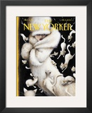 The New Yorker Cover - February 2, 2004 Framed Giclee Print by Ana Juan