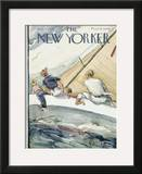The New Yorker Cover - August 15, 1942 Framed Giclee Print by Perry Barlow