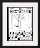 The New Yorker Cover - May 2, 2005 Framed Giclee Print by Bruce Eric Kaplan