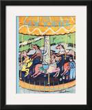 The New Yorker Cover - April 21, 1956 Framed Giclee Print by Abe Birnbaum