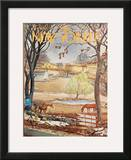 The New Yorker Cover - March 18, 1967 Framed Giclee Print by Albert Hubbell