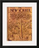 The New Yorker Cover - March 14, 1936 Framed Giclee Print by Rea Irvin