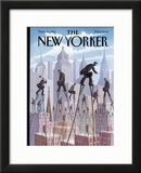 The New Yorker Cover - September 12, 1994 Framed Giclee Print by Eric Drooker