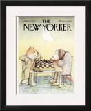 The New Yorker Cover - June 24, 1974 Framed Giclee Print by Andre Francois