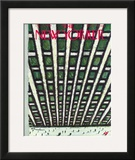 The New Yorker Cover - December 12, 1959 Framed Giclee Print by Abe Birnbaum