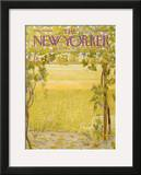 The New Yorker Cover - September 28, 1968 Framed Giclee Print by Ilonka Karasz